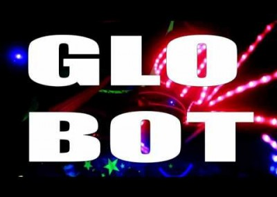 GloBot – available as a stage show & a mix & mingle artist