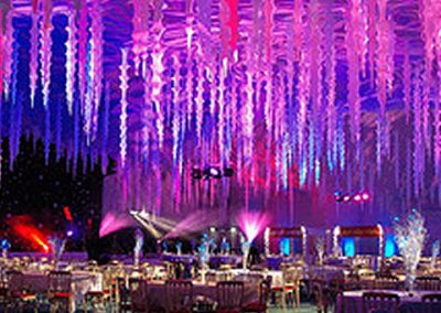 Fire & Ice themed corporate event