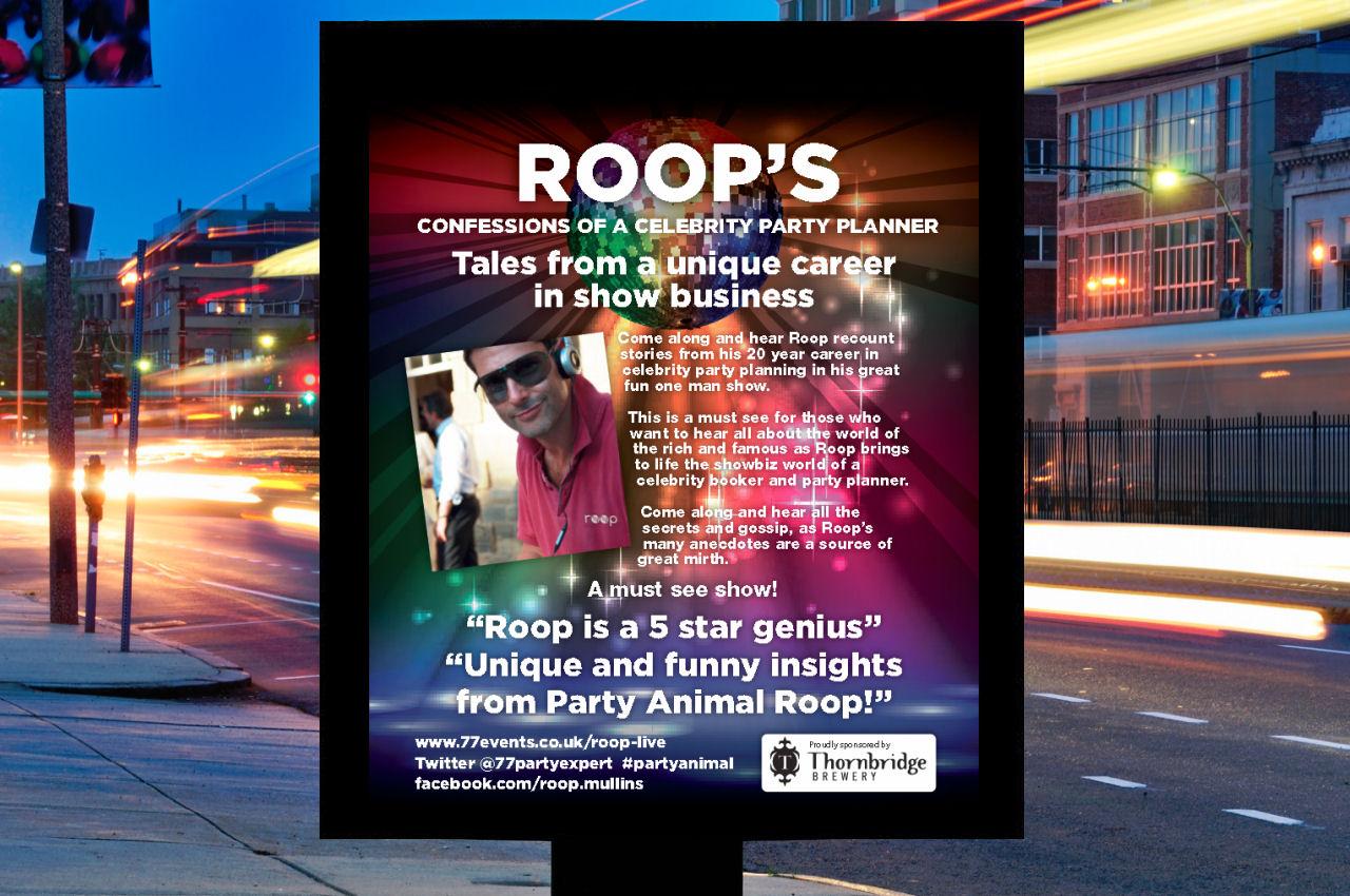 , Roop – After Dinner Speaker