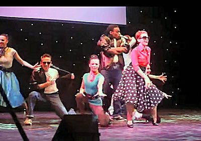Grease theme at Awards Ceremony