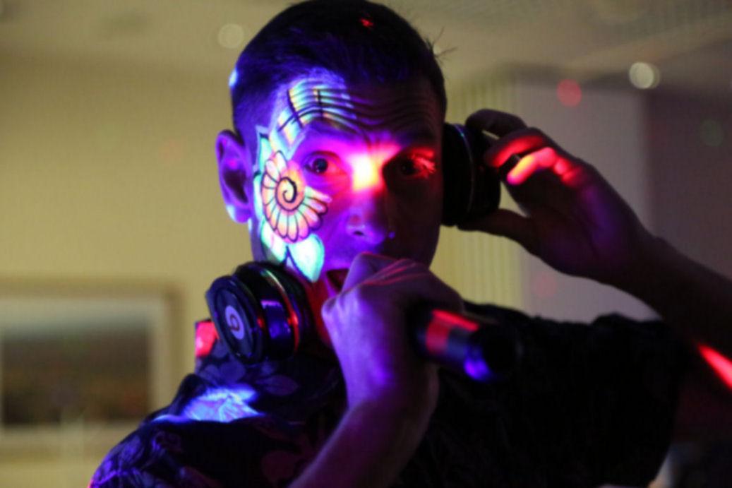 DJ Roop's UV disco