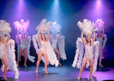 Doub7e Seven Dancers showcasing lots of different themes, costumes – and talent