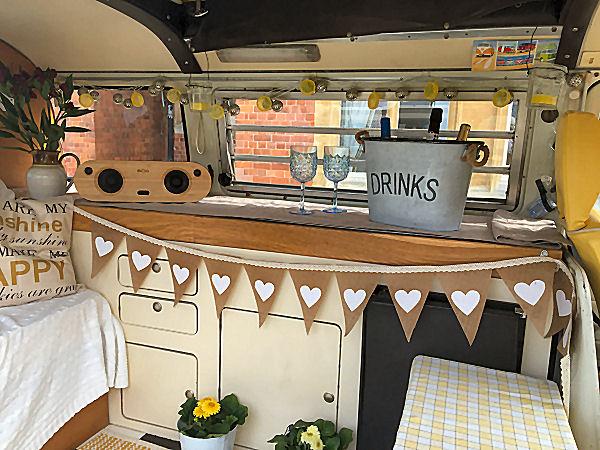, Hire Our Entertaining VW Camper Van