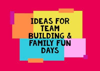 Corporate Family Fun Days & Team Building Activities